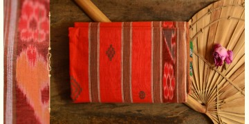 Cotton weaves ~ Ikat Saree { Sindoor - 2 }