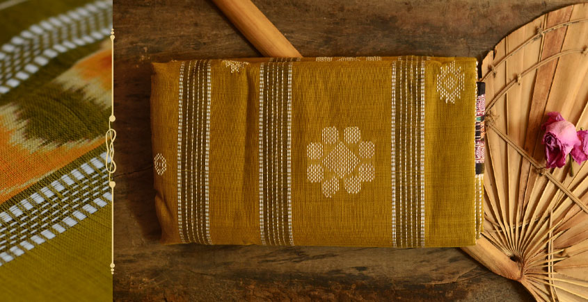 Cotton weaves ~ Ikat Saree { Hina - 6 }