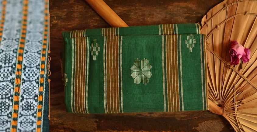 Cotton weaves ~ Ikat Saree { Tej Patta - 1  }