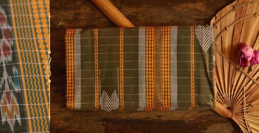 Cotton weaves ~ Ikat Saree { Tej Patta - 2 }