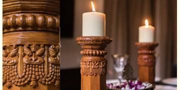 Karu ☘ Temple Pillar Lights { Wood } ☘ 6