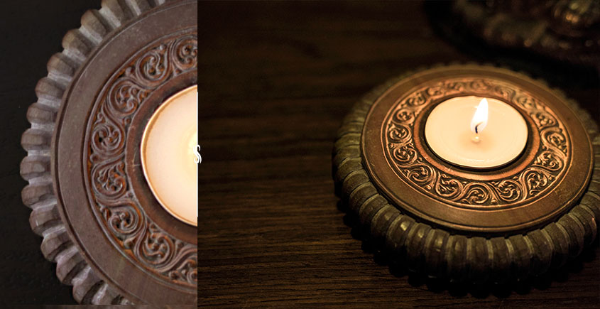 Karu ☘ Temple Lights { Soapstone } ☘ 4