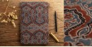 Hand Bound Ajrakh Cover Notebook ~ 03