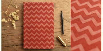 Hand Bound Ajrakh Cover Notebook ~ 06