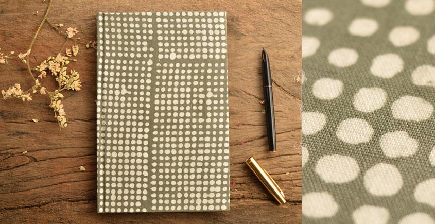 Hand Bound Batik Cover Notebook ~ 09