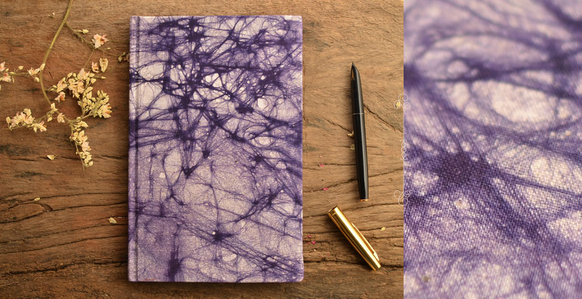 Hand Bound Batik Cover Notebook ~ 10