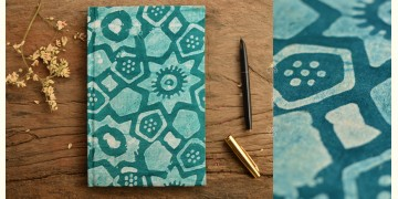 Hand Bound Batik Cover Notebook ~ 12