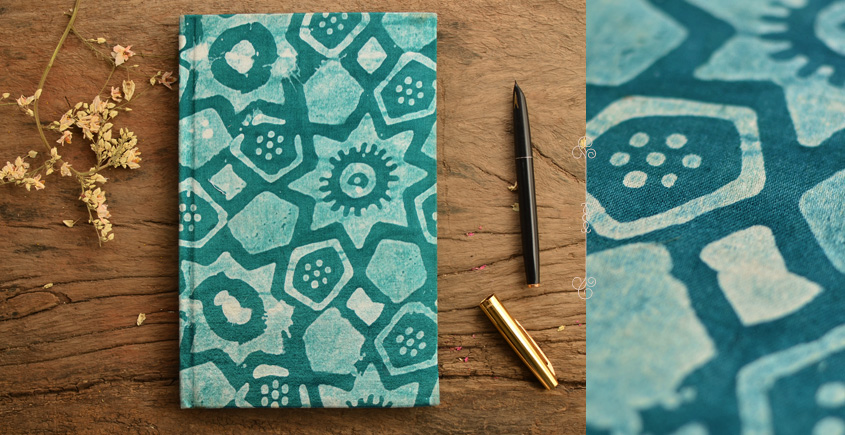 Hand Bound Batik Cover Notebook ~ 12