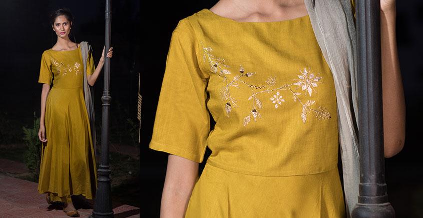 Jamiti ❈ Gold mustard field suit