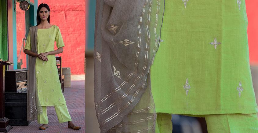 Jamiti ❈ Ornate garden suit