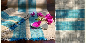Madurkathi Placemats { 6 Placemats, 1 Runner } ~ 28
