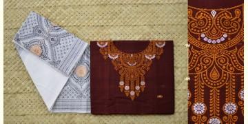 Meghasini ❈ Sambalpuri IKAT ❈ Dress material { 3 }
