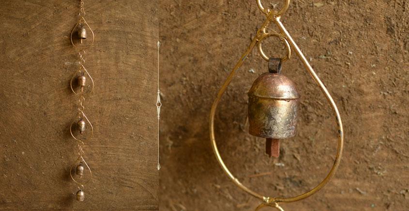 water drop design metal bell
