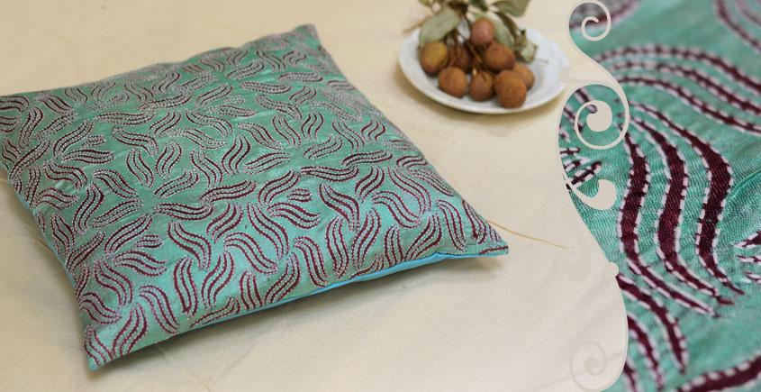 Kantha Cushion Cover - A  (16 X 16 inch)