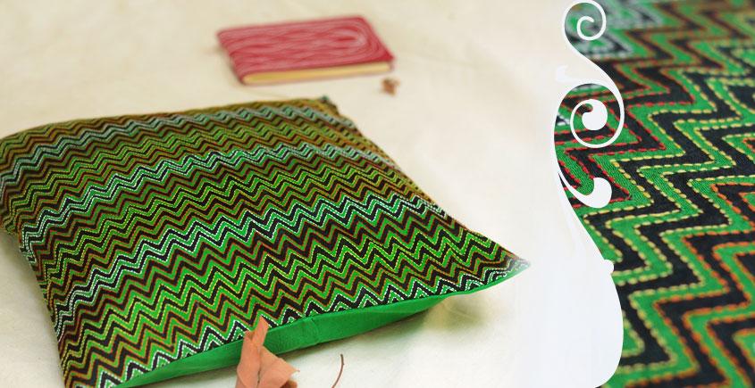 Kantha Cushion Cover - H (16 X 16 inch)