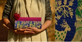 Baluchari Clutch Bag { P }