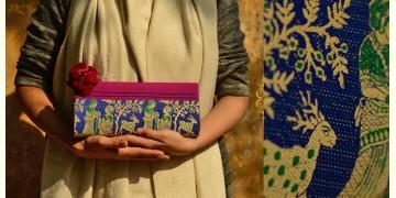 Baluchari Clutch Bag { P }