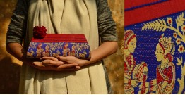 Baluchari Clutch Bag { Q }