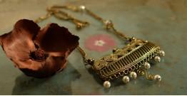 प्रभा ✺ Brass Necklace { 1 }
