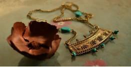 प्रभा ✺ Brass Necklace { 12 }