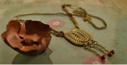 प्रभा ✺ Brass Necklace { 13 }