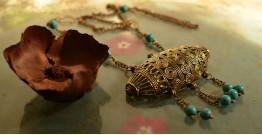 प्रभा ✺ Brass Necklace { 3 }