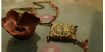 प्रभा ✺ Brass Necklace { 4 }