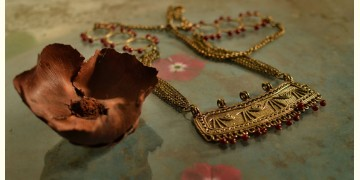 प्रभा ✺ Brass Necklace { 6 }