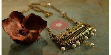 प्रभा ✺ Brass Necklace { 1 }