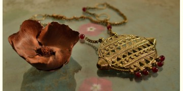 प्रभा ✺ Brass Necklace { 5 }