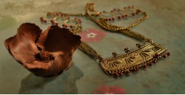प्रभा ✺ Brass Necklace { 6 }