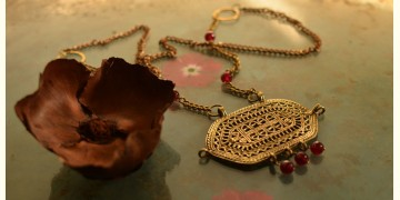 प्रभा ✺ Brass Necklace { 7 }