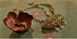 प्रभा ✺ Brass Necklace { 8 }