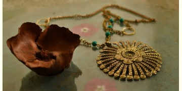 प्रभा ✺ Brass Necklace { 9 }