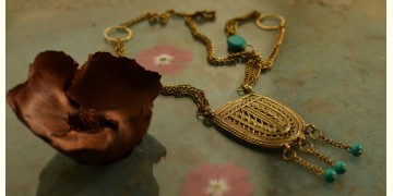 प्रभा ✺ Brass Necklace { 10 }