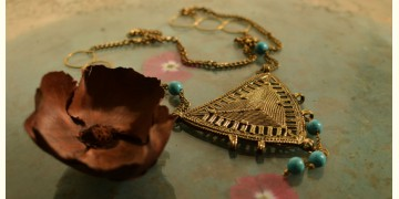 प्रभा ✺ Brass Necklace { 11 }