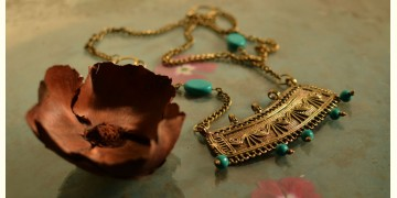 प्रभा ✺ Brass Necklace { 12 }