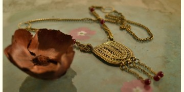 प्रभा ✺ Brass Necklace { 13 }