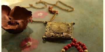 प्रभा ✺ Brass Necklace { 2 }