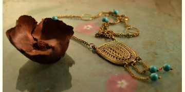प्रभा ✺ Brass Necklace { 14 }
