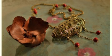 प्रभा ✺ Brass Necklace { 16 }