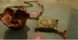 प्रभा ✺ Brass Necklace { 4 }
