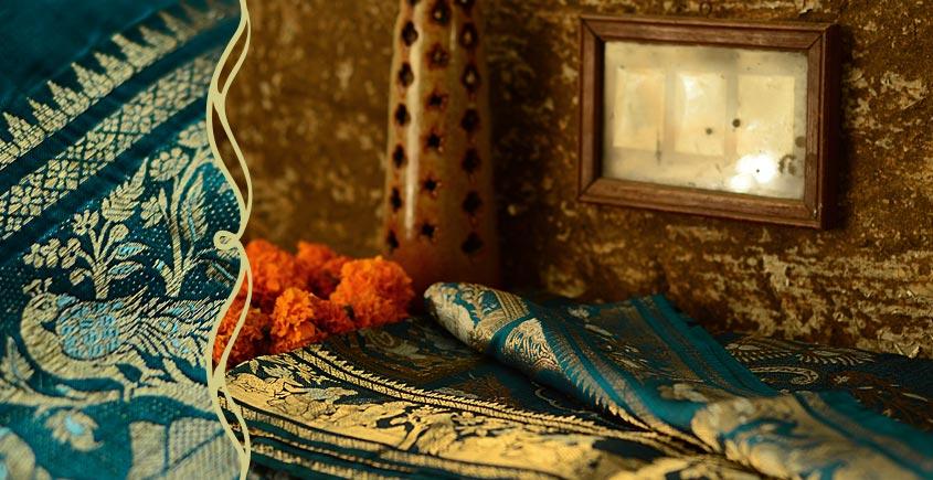 Gandharva: Baluchari saree ~ 8