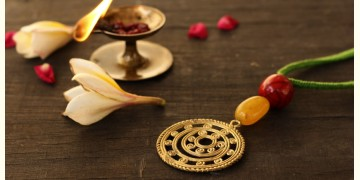आराधना   Aradhana ✺ Brass Necklace { 11 }
