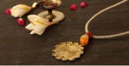 आराधना | Aradhana ✺ Brass Necklace { 1 }