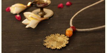 आराधना | Aradhana ✺ Brass Necklace { 1 }