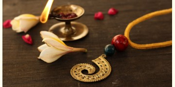 आराधना | Aradhana ✺ Brass Necklace { 3 }