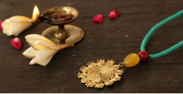 आराधना | Aradhana ✺ Brass Necklace { 4 }