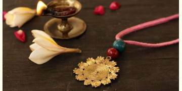 आराधना | Aradhana ✺ Brass Necklace { 5 }