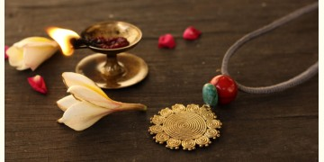 आराधना | Aradhana ✺ Brass Necklace { 6 }